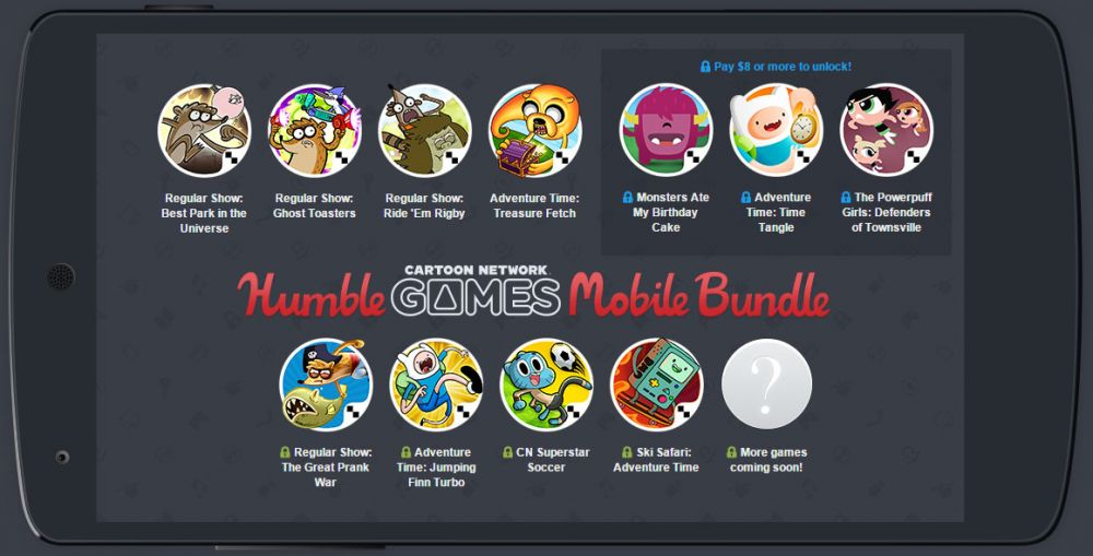 Humble Bundle Mobile spécial Cartoon Network