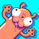 Test Android de Silly Sausage in Meat Land