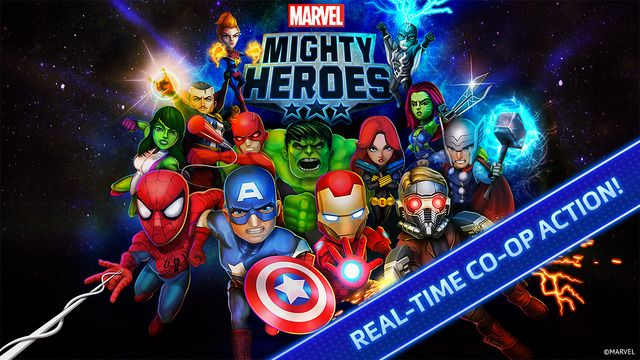 Marvel Mighty Heroes de DeNA