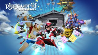 Playworld Superheroes sur Android