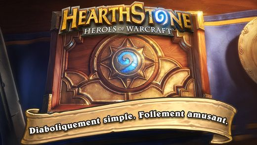 Hearthstone: Heroes of Warcraft de Blizzard sur iPhone