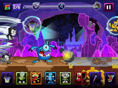 Mixels Rush de Cartoon Network
