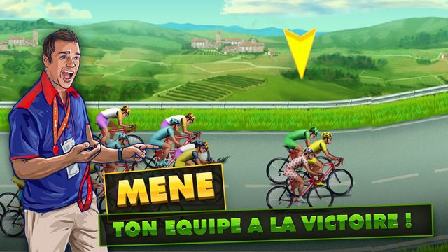Tour de France 2015 - le jeu mobile officiel de Playsoft