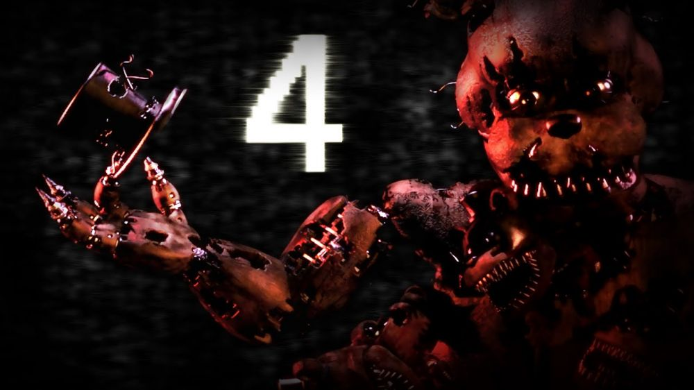 Five Nights at Freddy's 4 de Scott Cawthon