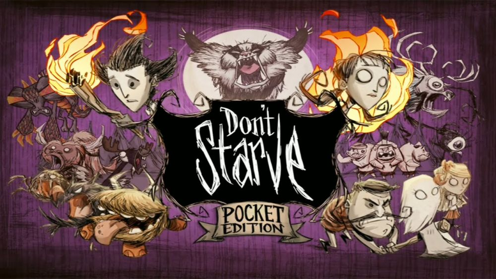 Don't Starve: Pocket Edition sur iPhone et iPad