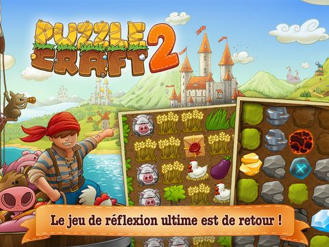 Puzzle Craft 2 de Chillingo