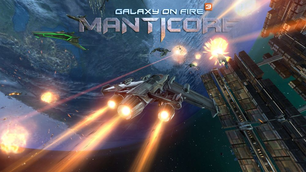 Galaxy on Fire 3 Manticore de Fishlabs