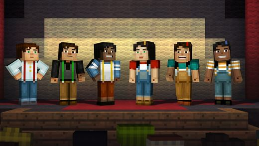 Minecraft: Story Mode sur iPhone et iPad