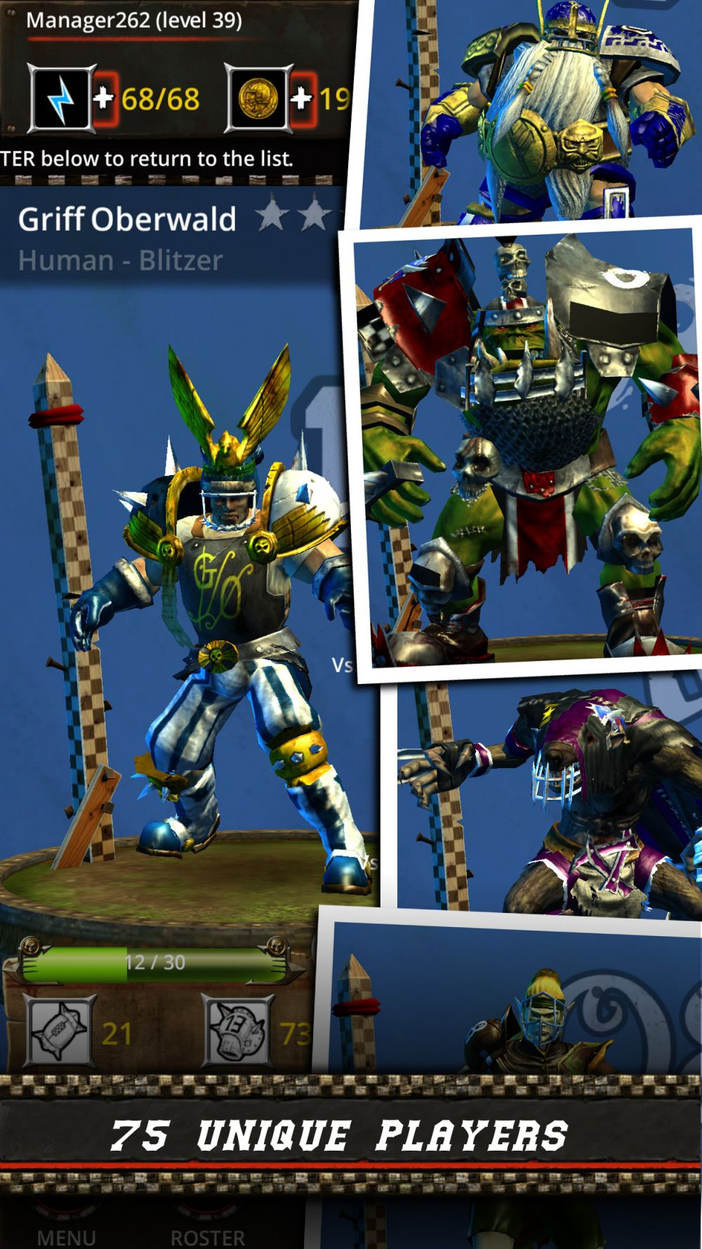 Blood Bowl: Kerrunch de Cyanide (Screenshot 1)