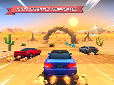 Horizon Chase de Aquiris Game Studio