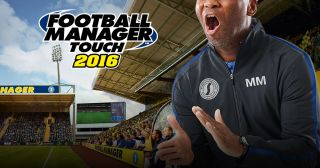 Football Manager Touch 2016 sur tablette Android