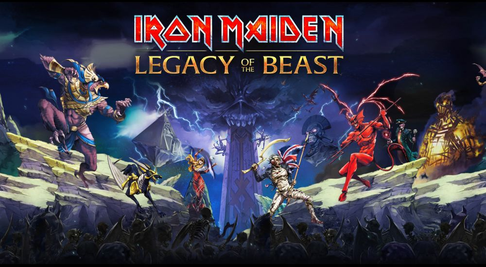 Iron Maiden: Legacy Of The Beast de Roadhouse Interactive