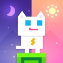 Test iOS (iPhone / iPad / Apple TV) Super Phantom Cat - Be a jumpin bro.
