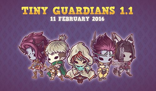 Tiny Guardians de Kurechii