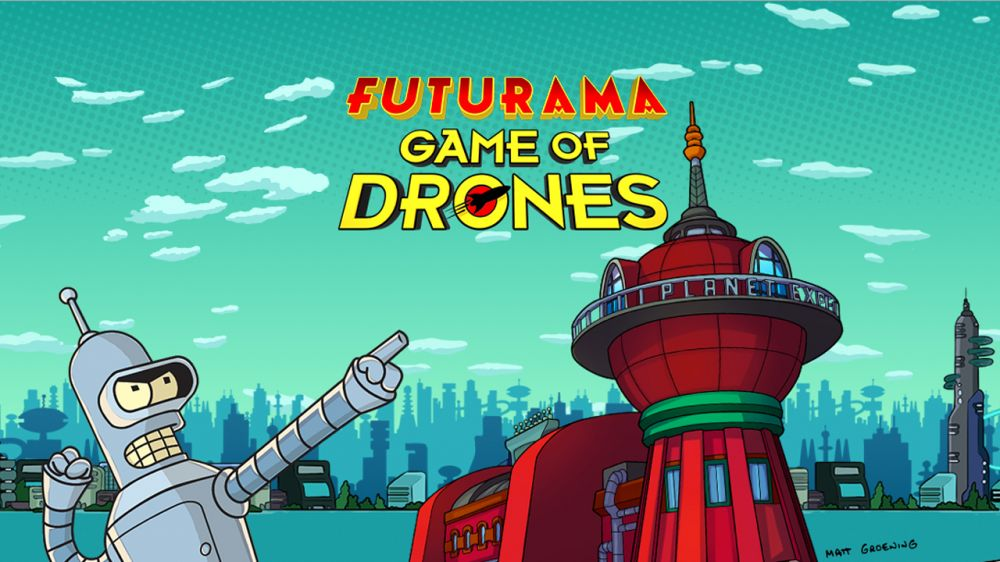 Futurama: Game of Drones de wooga