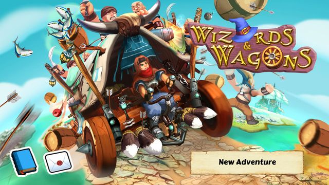 Wizards and Wagons de Touch Dimensions