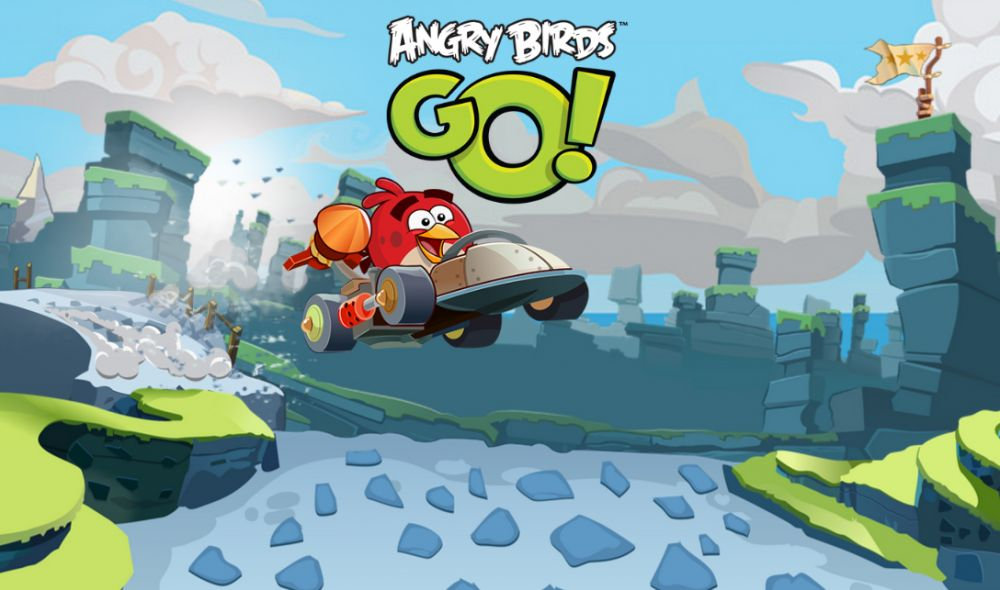 Angry Birds Go sur iPhone / iPad et Android