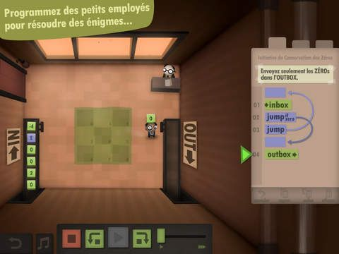 Human Resource Machine de Experimental Gameplay Group
