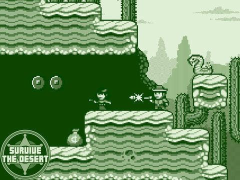 2-bit Cowboy Rides Again de Retro Phone Games et Crescent Moon Games