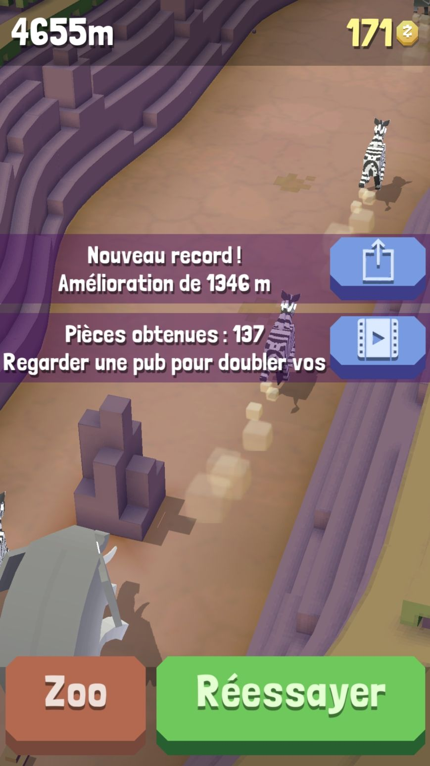 Rodeo Stampede Sky Zoo Safari Test Jeu Android Sur