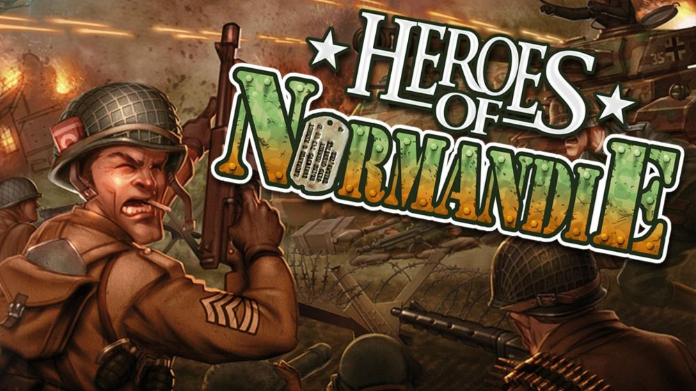 Heroes of Normandie de Slitherine