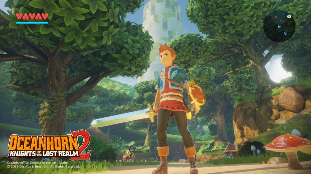 Oceanhorn 2: Knights of the Lost Realm de Cornfox