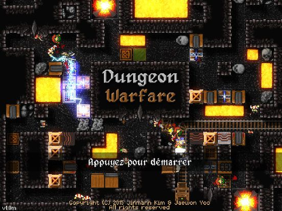 Dungeon Warfare de Jin Man Kim