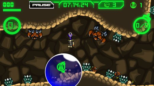 Atomic Super Lander de Crescent Moon Games et bit Weird Games