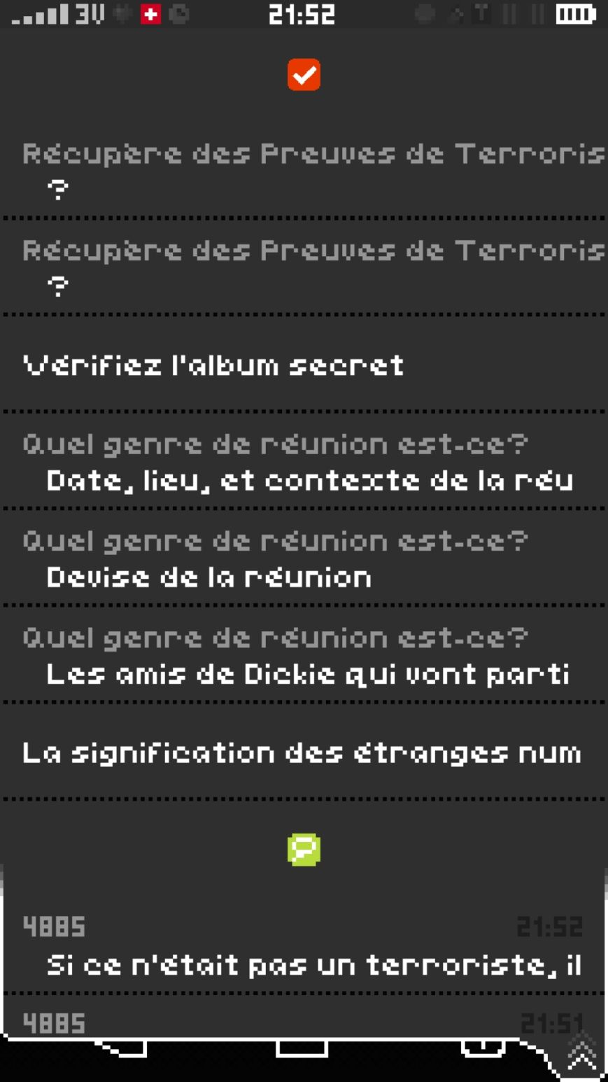 Replica (copie d'écran 7 sur Android)