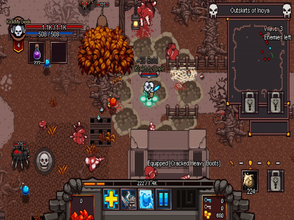 Hero Siege: Pocket Edition (copie d'écran 4 sur iPhone / iPad)