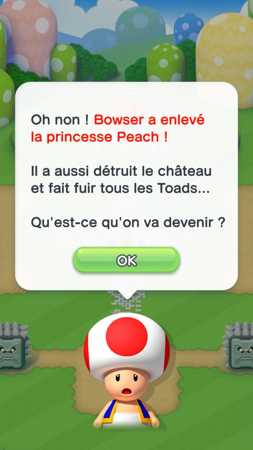 Super Mario Run (copie d'écran 1 sur iPhone / iPad)