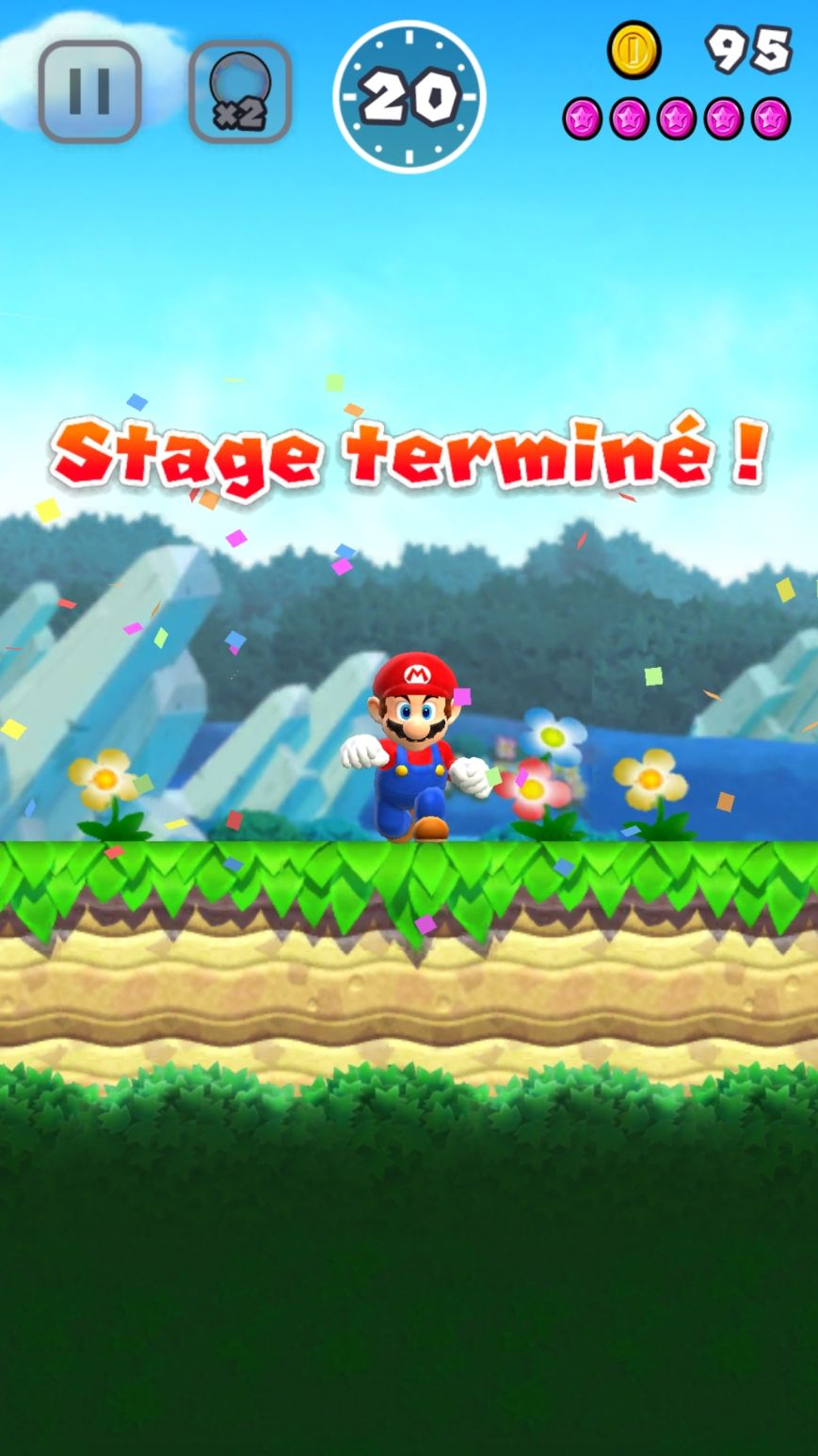 Super Mario Run (copie d'écran 4 sur iPhone / iPad)