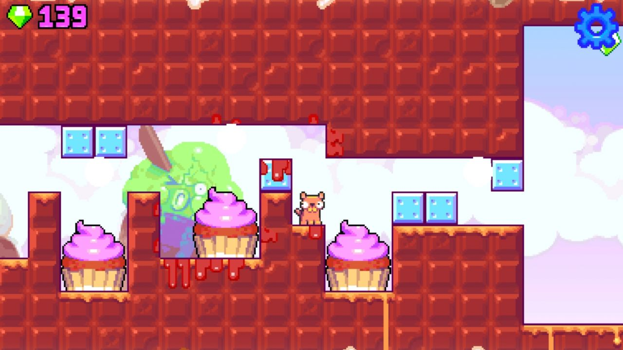 Silly Sausage: Doggy Dessert (copie d'écran 1 sur iPhone / iPad)