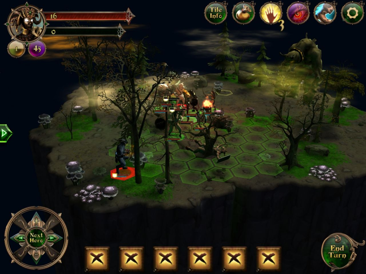 Demon's Rise 2: Lords of Chaos (copie d'écran 4 sur iPhone / iPad)