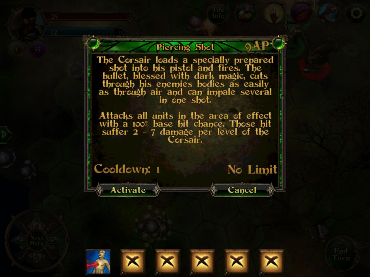 Demon's Rise 2: Lords of Chaos (copie d'écran 8 sur iPhone / iPad)