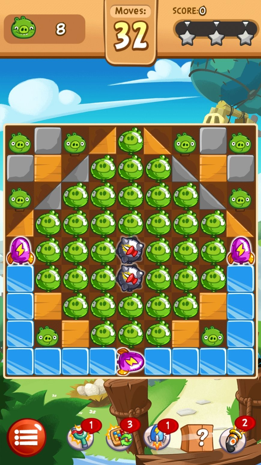 Angry Birds Blast (copie d'écran 2 sur iPhone / iPad)