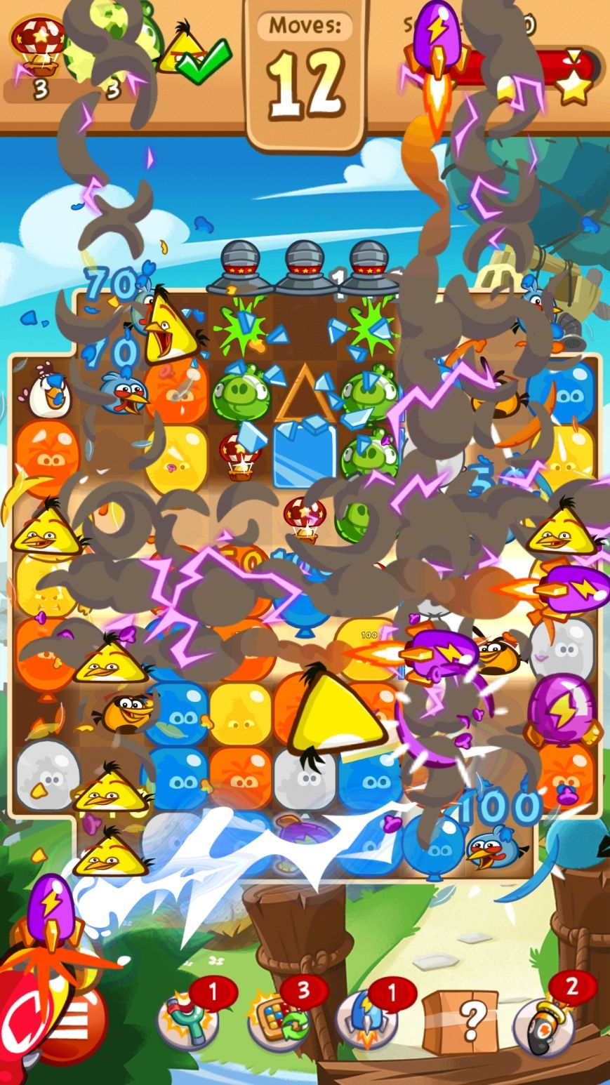 Angry Birds Blast (copie d'écran 7 sur iPhone / iPad)
