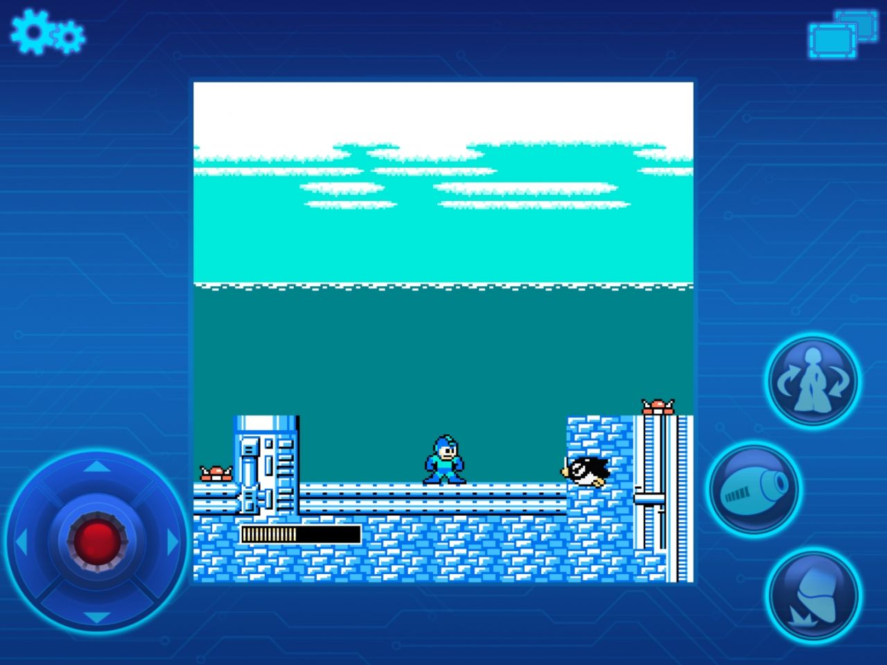 MEGA MAN MOBILE (copie d'écran 7 sur iPhone / iPad)