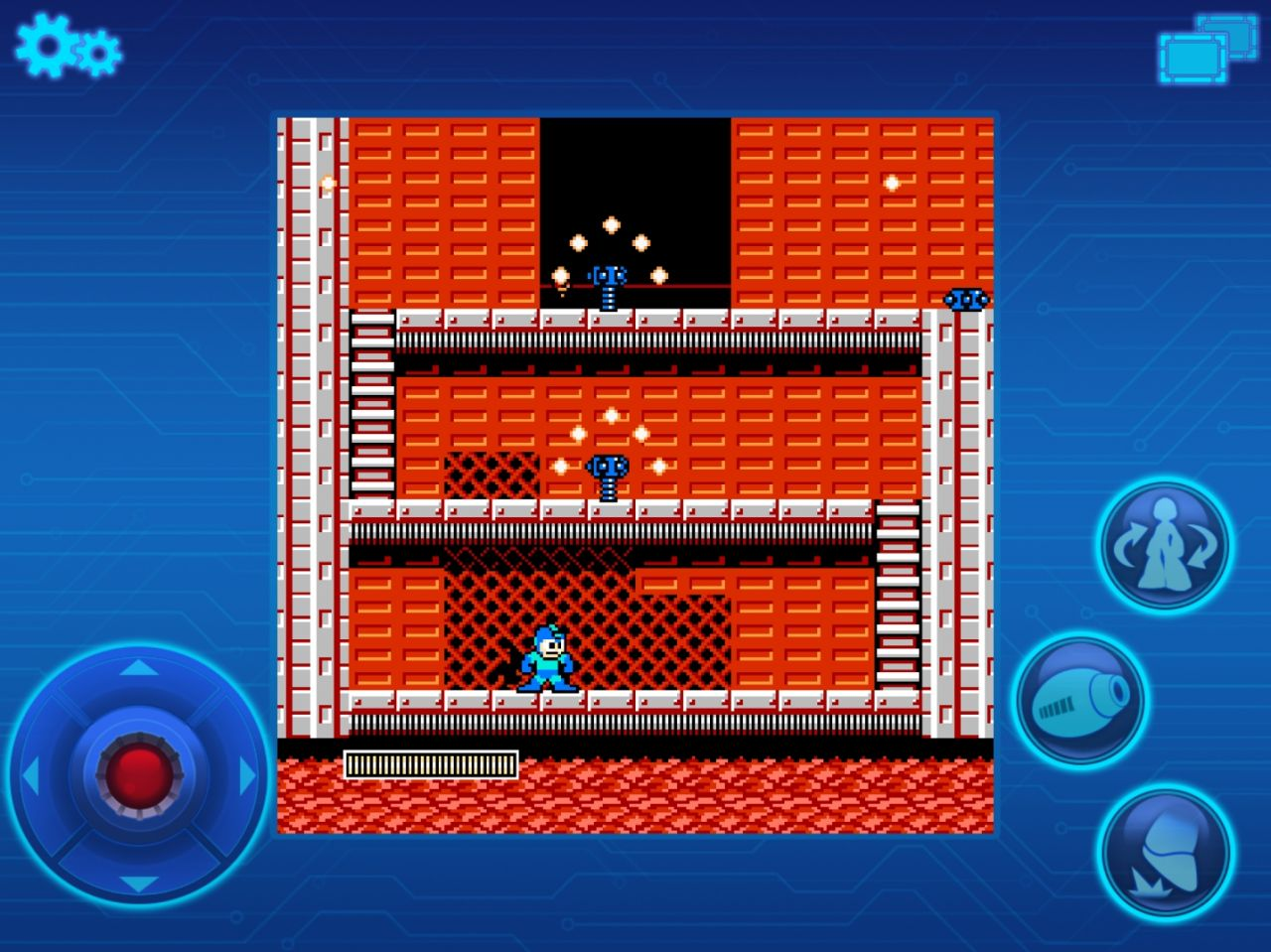 MEGA MAN MOBILE (copie d'écran 3 sur Android)