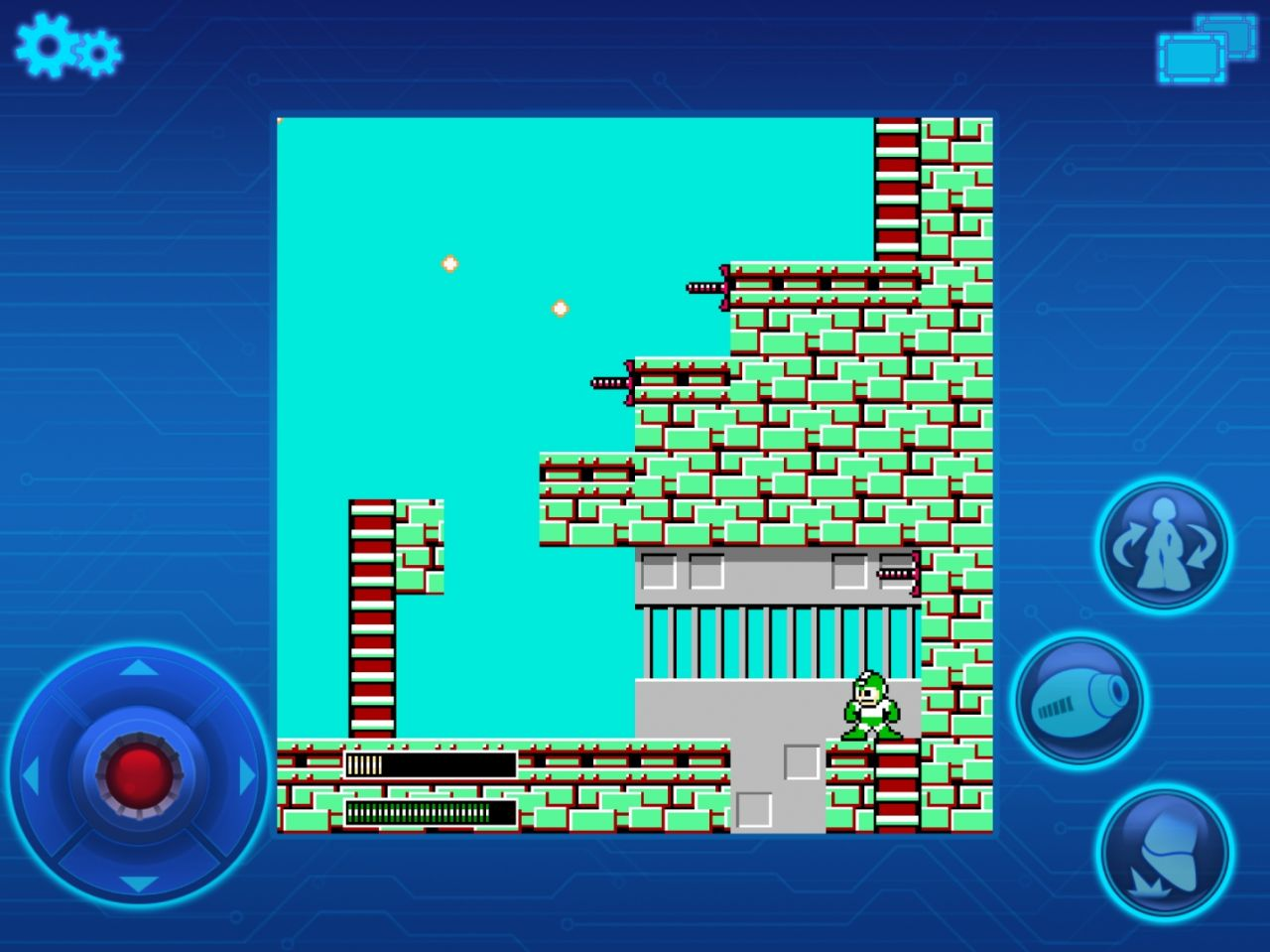 MEGA MAN MOBILE (copie d'écran 8 sur Android)