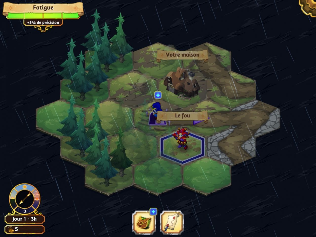 Crowntakers (copie d'écran 1 sur Android)