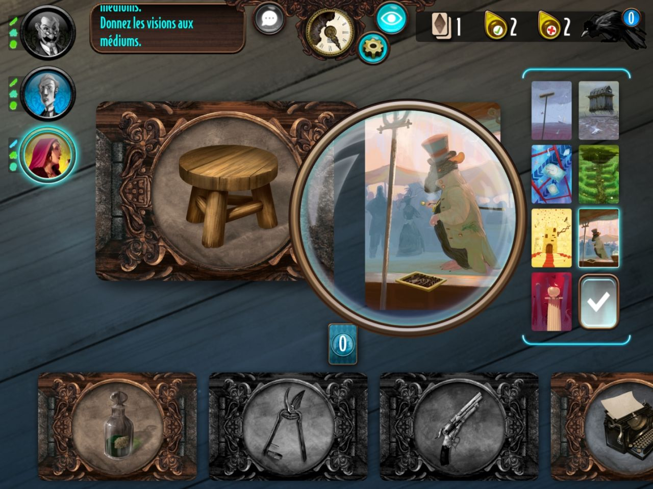 Mysterium: The Board Game (copie d'écran 3 sur Android)