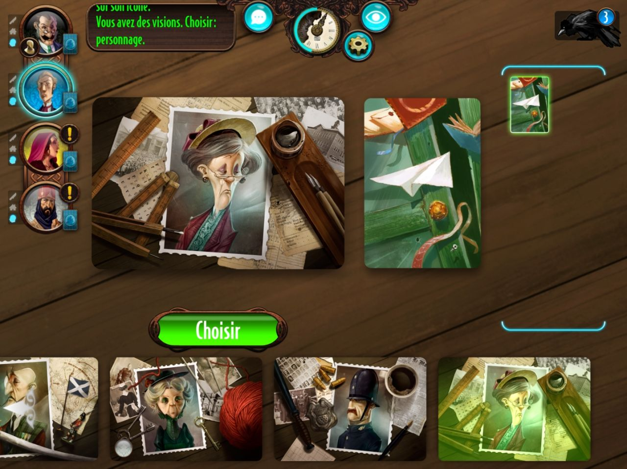 Mysterium: The Board Game (copie d'écran 6 sur Android)
