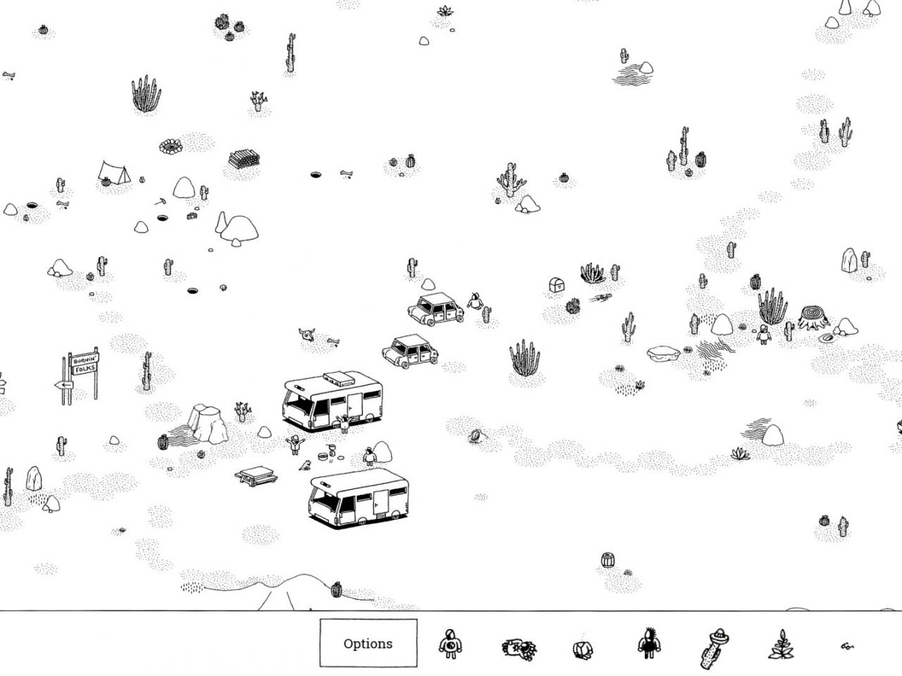 Hidden Folks (copie d'écran 3 sur iPhone / iPad / Apple TV)