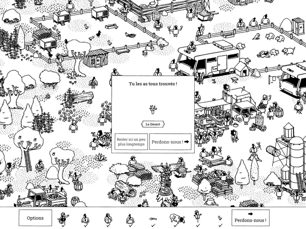 Hidden Folks (copie d'écran 8 sur iPhone / iPad / Apple TV)