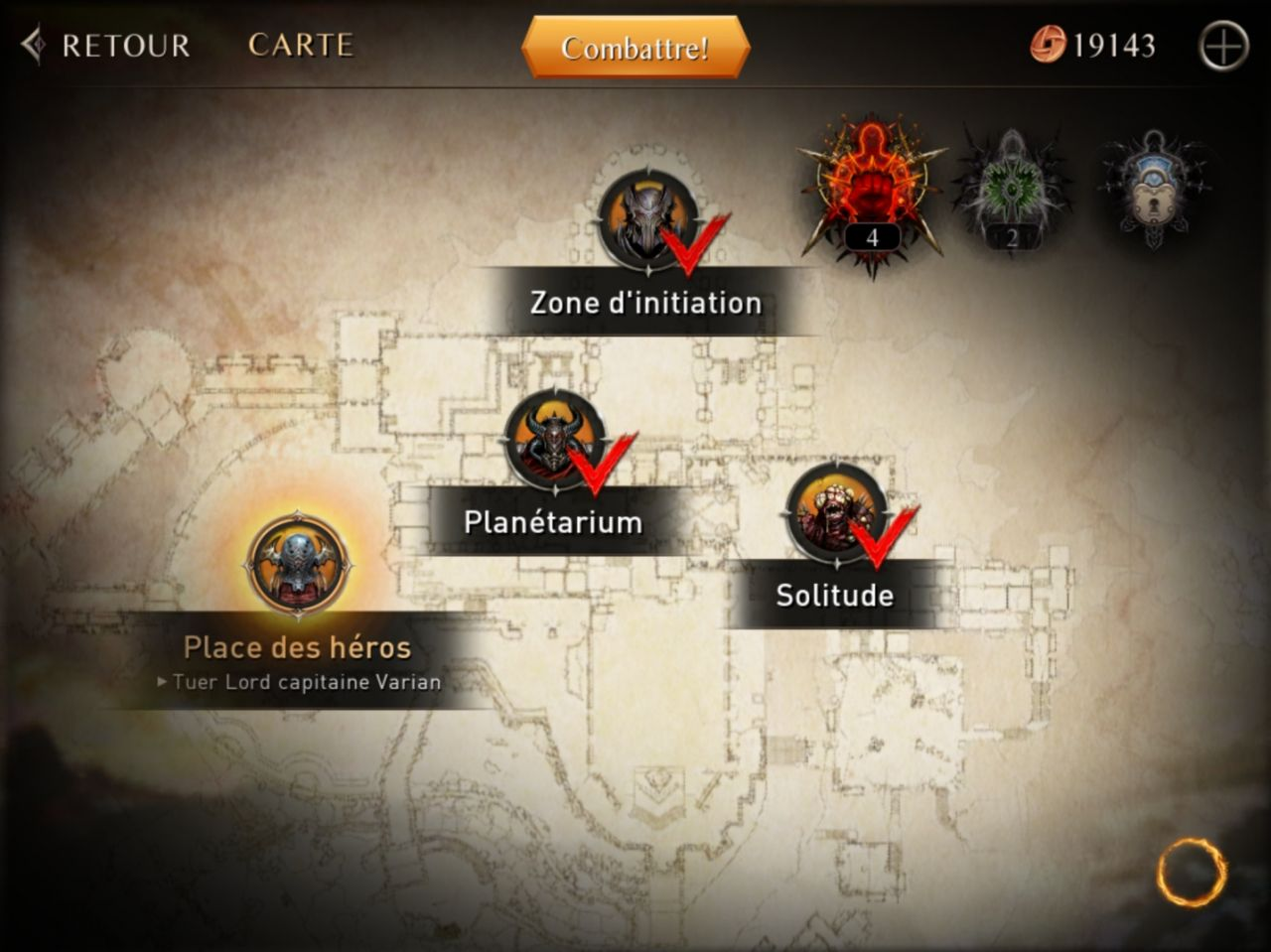 Lords of the Fallen (copie d'écran 1 sur Android)