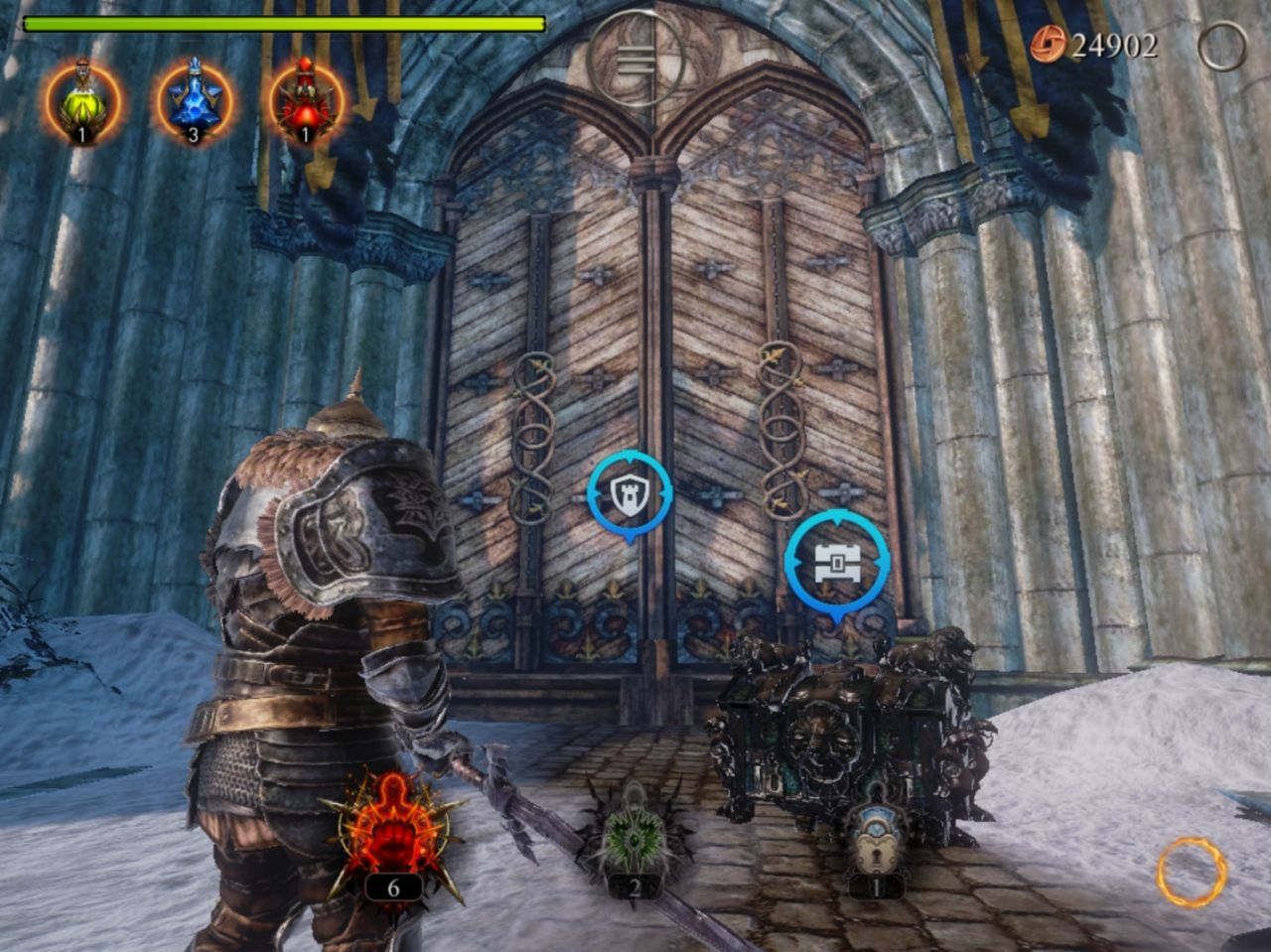 Lords of the Fallen (copie d'écran 13 sur Android)