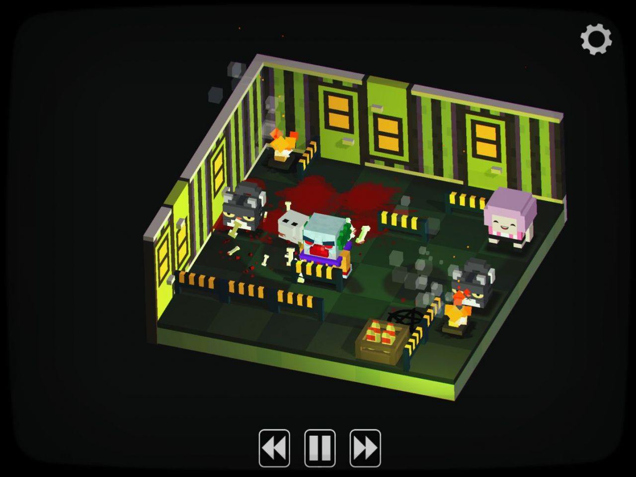 Slayaway Camp (copie d'écran 5 sur iPhone / iPad)