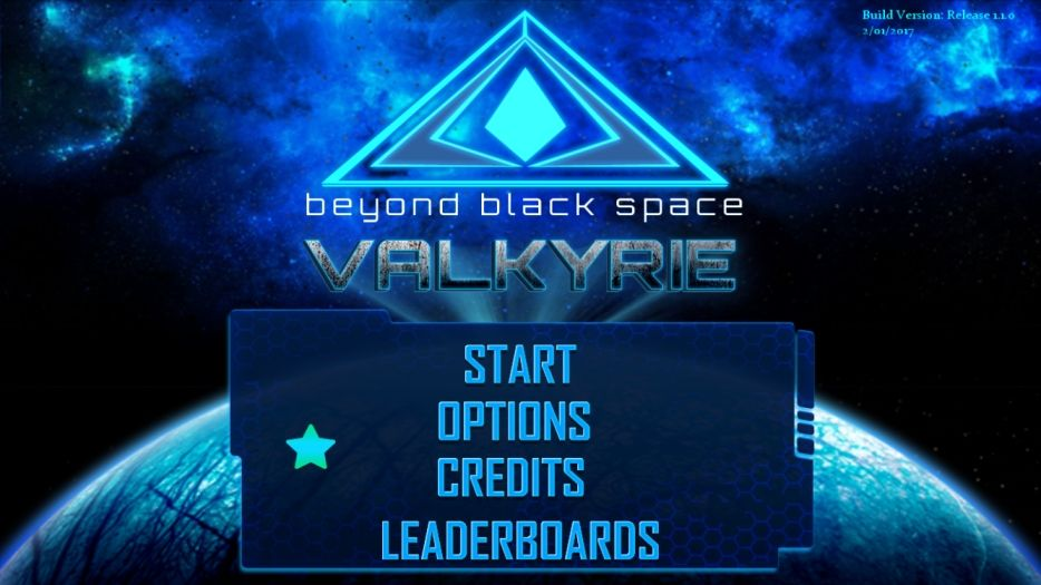 Beyond Black Space Valkyrie (copie d'écran 1 sur iPhone / iPad)