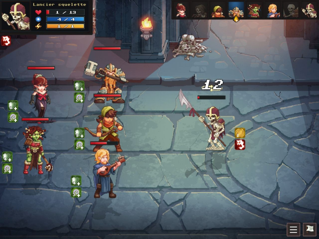 Dungeon Rushers (copie d'écran 5 sur Android)